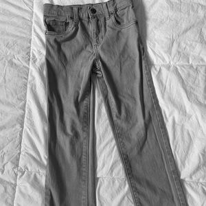 SONOMA Straight Leg 6 Regular Boy's Gray Jeans
